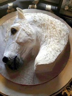 cake Art horse - 12 Amazing Horse-Themed Cakes Fit for a True Country Affair Fancy Cakes, Cute Cakes, Mini Cakes, Cupcake Cakes, 3d Cakes, Gorgeous Cakes, Amazing Cakes, Western Cakes, Cowboy Cakes
