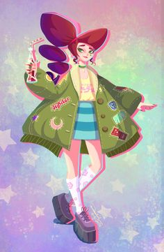 Fan art of Sailor Moon with casual wear! Their clothes are designed based on Tokyo Fashion elements. Sailor Moon Fan Art, Sailor Uranus, Sailor Neptune, Sailor Moon Crystal, Sailor Mars, Manga Comics, Character Art, Character Design, Pokemon