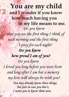 You are what I live for.... I love, love, love you!!!