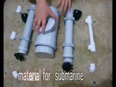 HOMEMADE SUBMARINE, HOMEMADE ROV SUBMARINE - YouTube