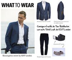 What to wear by KST London!  Consigue el estilo de Tom Hiddleston con nuestro Total Look de KST London.    Hazte con él en www.kstlondon.com  #fashion #moda #suit  #britishstyle  #british #kstlondon #men #menswear #whattowear