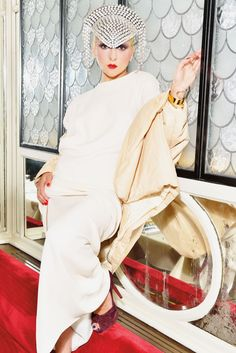 G-L-A-M doesn't begin to describe her: http://www.thecoveteur.com/catherine-baba-interview/