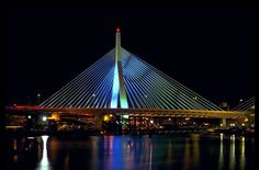 Zakim Bunker Hill Memorial Bridge - Boston, Massachusetts