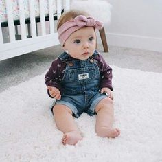 Our baby boy outfit & baby clothing are severely lovely. So Cute Baby, Baby Kind, Cute Baby Clothes, Cute Kids, Cute Babies, Babies Clothes, Baby Girl Fashion, Kids Fashion, Style Fashion
