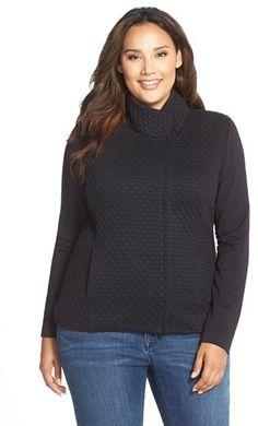 325a7167727e9 Tart  Bridgette  Textured Knit Jacket (Plus Size)
