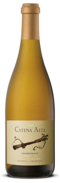 2009 Catena Alta Chardonnay from Bodega Catena Zapata, Mendoza, Argentina