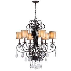 Annelise 3-light Convertible Chandelier - Overstock Shopping - Great Deals on Chandeliers & Pendants