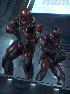 Galactic empire soldiers