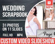 Wedding Scrapbook http://etsy.me/2CCyuR8 #Videoslideshow #Customvideoslideshow #Customslideshow #Slideshowmemories #Movieslideshow #Slideshow #Customizableslideshow #Weddingslideshow #Photoslideshow #Customizedslideshow #Weddingmovie #Weddingvideo #Weddingvideos