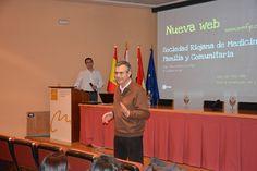 Presentación de la nueva web de la Sociedad Riojana de Medicina de Familia y Comunitaria
