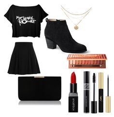 """""""cool"""" by frerardfreak ❤ liked on Polyvore featuring River Island, Lands' End, L.K.Bennett, Smashbox, Christian Dior, Yves Saint Laurent and Urban Decay"""