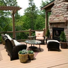 Home Decor - Deck - Decoration Ideas - Good Housekeeping