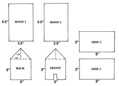 how to make a cardboard house - Google Search