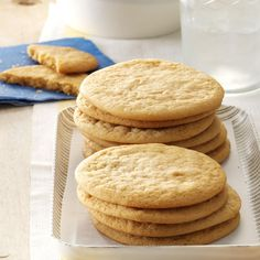 Grandpa's Cookies Recipe -My grandpa, a widower, raised his three sons on his own and did all the cooking and lots of baking. I can still picture him making these tasty cookies. —Karen Baker, Dover, Ohio