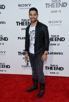 Wilmer Valderrama at the This Is The End red carpet premiere.
