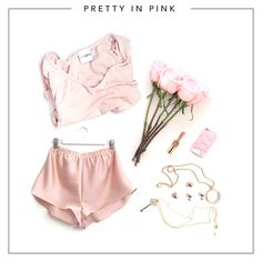 Pretty In Pink - Feeling girly? Why not opt for the soft pink shades and delicate jewellery.