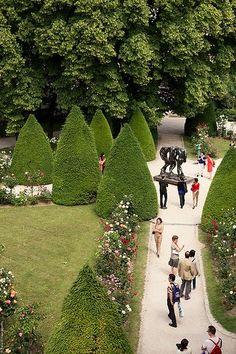 A szép kertben a Musée Rodin