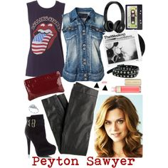 Peyton Sawyer style from One Tree Hill