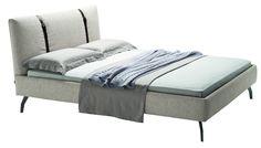 Jetzt bei Desigano.com Legami Doppelbett Betten, Doppelbetten von Zanotta ab Euro 3 528,00 € https://www.desigano.com/doppelbetten/1442-legami-doppelbett-zanotta.html Vom Designer Emaf Progetti im Jahr 2013 entworfen    - das unverwechselbar Doppelbett LEGAMI. LEGAMI ist mit Füßen aus Stahl, wahlweise in chromfarben oder schwarz lackiert ausgestattet. Der Lattenrost auf dem Stahlgestell besteht aus gebogenen Buchen-Dauben in naturfarben und ist lackiert. Das Kopfteil wie auch dieBasis…