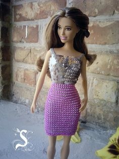 Handmade crochet dresses for Barbie от OdejdaKykle на Etsy