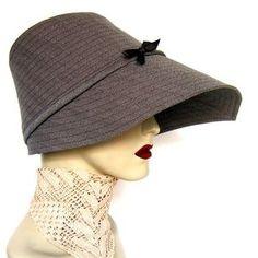 Maven rainwear by TerryGraziano on Etsy, via Etsy. Rain Hat, Cool Hats, Hats For Women, Retro Fashion, Fascinators, Headpieces, My Style, How To Wear, Craft