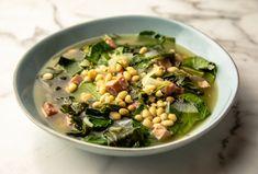Ham And Beans, Ham And Bean Soup, Ham Soup, Collard Green Soup, Collard Greens, Food Network Recipes, Cooking Recipes, Cooking Food, Top Recipes