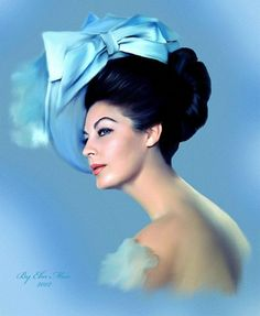 "Ava Gardner by Mohamad Magdy...I never thought she was ""exceptionally beautiful""..but Frank and Howard Hughes sure did."