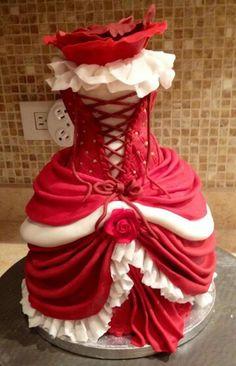 Burlesque Cake Decorations