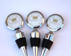 Custom Wedding Logo Corporate Gift Promotional items - Custom Wine Stopper with Custom Logo Custom Photo