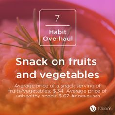 Have you been telling yourself healthy snacks are just too expensive? #thinkagain