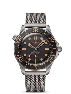 Omega Seamaster Diver 300M Co-Axial Master Chronometer 42 mm 210.90.42.20.01.001 James Bond 007 Frontal, trasera y estuche Omega Seamaster 007, Omega Seamaster Deville, Omega Speedmaster Moonwatch, Omega Seamaster Chronometer, Omega Seamaster Planet Ocean, Mesh Bracelet, Bracelet Cuir, Rolex, Men Watches