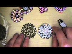 """Handmade Vintage """"Look a like"""" Brooches I can use these to decorate multiple projects that need old jewelry."""