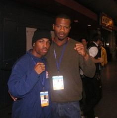 Olympic Boxing Coach, James Phelps with Mr. Gary Russell Jr.
