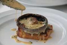 Mushroom on brioche - Cooking class at the Tannery Dungarvan by Niamheen, via Flickr