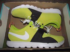 Nike SB Trainerendor SE Mens Shoes 12 Sonic Yellow White Black 644830 710 #Nike #Skateboarding