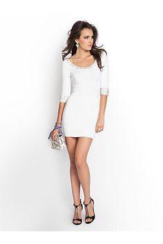 Beaded Sweater-Dress