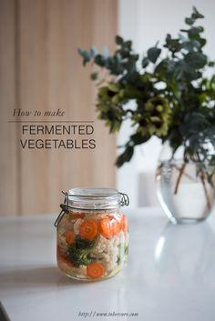 Easy fermented vegetables