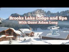 This week we I'm joined by Adam Long, General Manager Brooks Lake Lodge, we talk about all the wonderful features that make Brooks Lake Lodge so special for its guests! We also talk to Skinner Bell, head wrangler and snowmobile guide and have a surprise visit from Moose, the Lodge's Black Lab!