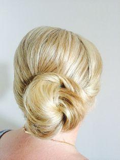Bridal hair by Jo black