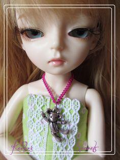 Collier pour YOSD/ bijou pour BJD/ necklace for BJD/ Nouveau ! de la boutique KeikosSecrets sur Etsy