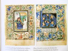 Meisterwerke der Buchmalerei: Doppelseite, aus dem Gebetbuch des Stephan Lochner, um 1450