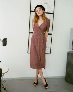 5,037 отметок «Нравится», 56 комментариев — Rouje By Jeanne Damas (@rouje) в Instagram: «Gabin dress ❤»
