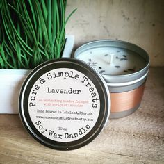 A personal favorite from my Etsy shop https://www.etsy.com/listing/245539921/lavender-10oz-soy-candle-double-strength