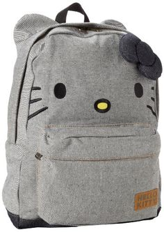 Hello Kitty Denim SANBK0096 Backpack,Blue/Black,One Size