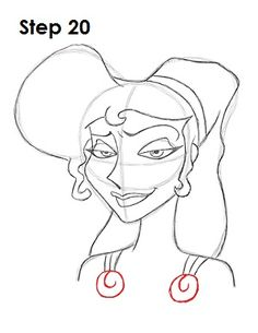 Learn how to draw Megara (Meg) from Walt Disney's Hercules with this step-by-step tutorial and video. A new cartoon drawing tutorial is uploaded every week, so stay tooned! Meg Hercules, Disney Hercules, Cartoon Drawing Tutorial, Cartoon Drawings, Disney Princess Paintings, Learn To Draw, Pony, Couscous, Sketch