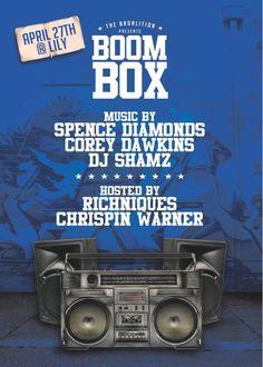 April 27, 2013 April 27, Boombox, I Party, Dj, Parties, Entertaining, Fiestas, Fiesta Party, Funny