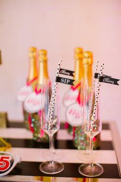 As we all prepare to watch the clock strike midnight for 2015, I couldn't resist sharing these sparkly, confetti-filled, New Year's Eve party ideas! Caitlin Thomas Photography and {SHE} Shayla Hawkins Events teamed up with a group of talented pros from the Steel City for this colorful, high-energy, pattern-filled NYE soirée!