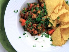 Vegetarisk chiligryta med chipotle   Recept från Köket.se