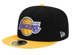 Los Angeles Lakers Trance Print 59Fifty Fitted Baseball Cap by NEW ERA x  NBA Armarios Gorras e5f737a9bc6