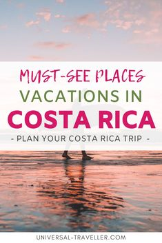 Ultimate list of the top places to visit on your vacations in Costa Rica for extreme adventures and luxurious relaxation. Tamarindo, Corcovado National Park, Best Surfing Spots, Costa Rica Travel, Top Place, Most Beautiful Beaches, Travel Tips, Travel Destinations, Day Tours